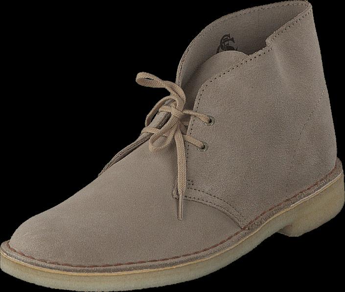 Kjøp Clarks Desert Boot Sand Beige Sko Online