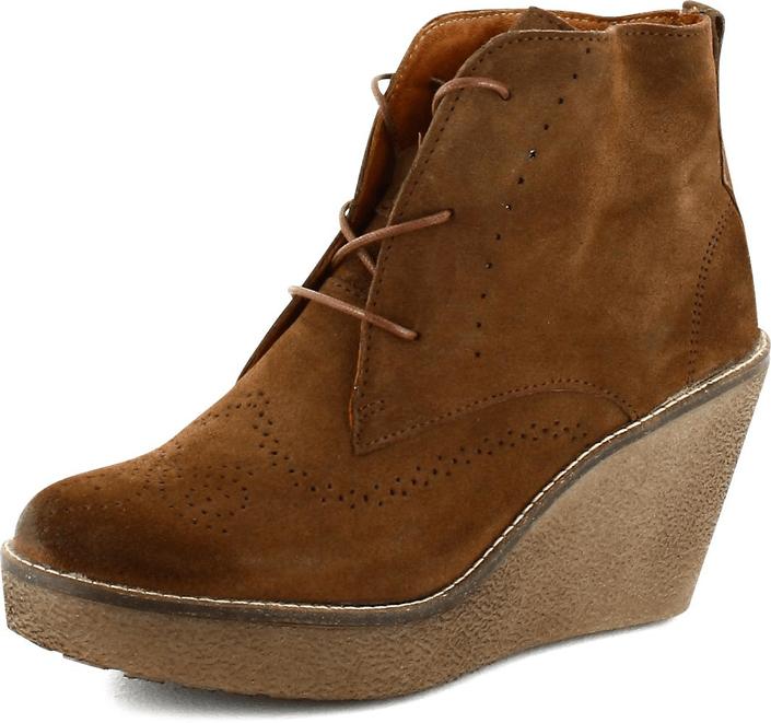 Kjøp Marc O'Polo Short Boot Brown Suede Brune Sko Online