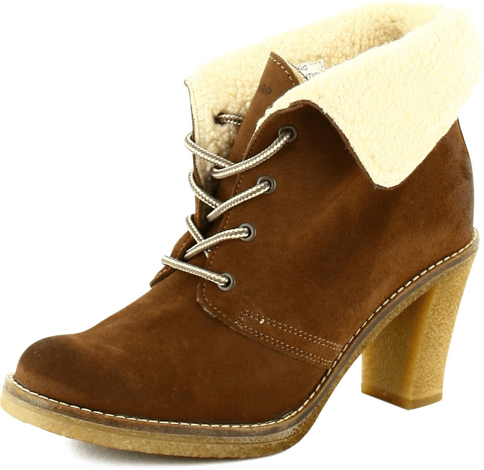 Kjøp Marc O'Polo Ankle Boot Brown Suede Brune Sko Online
