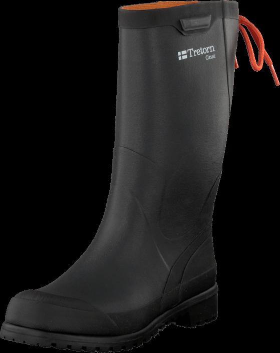 Kjøp Tretorn Classic Black Svarte Sko Online