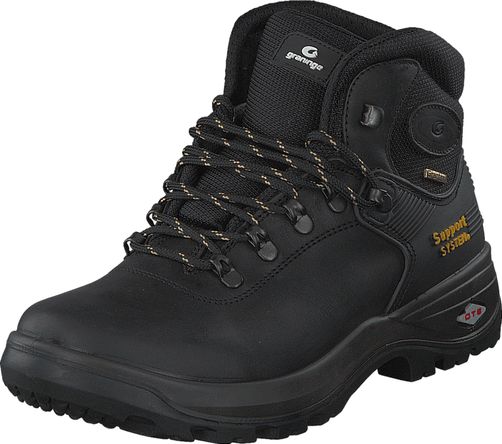 Kjøp Graninge Leather Boot 521 Black Svarte Sko Online