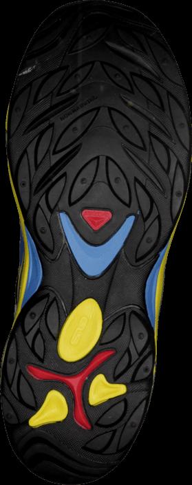 Kjøp Salomon Xt Wings K Grey Denim/Canary Yellow/Alu Blå Sko Online