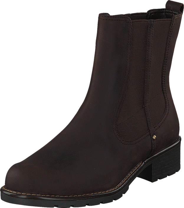 Kjøp Clarks Orinoco Club Chocolate Leather Brune Sko Online