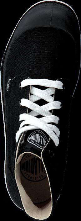 Kjøp Palladium Blanc Hi W Black/White Svarte Sko Online