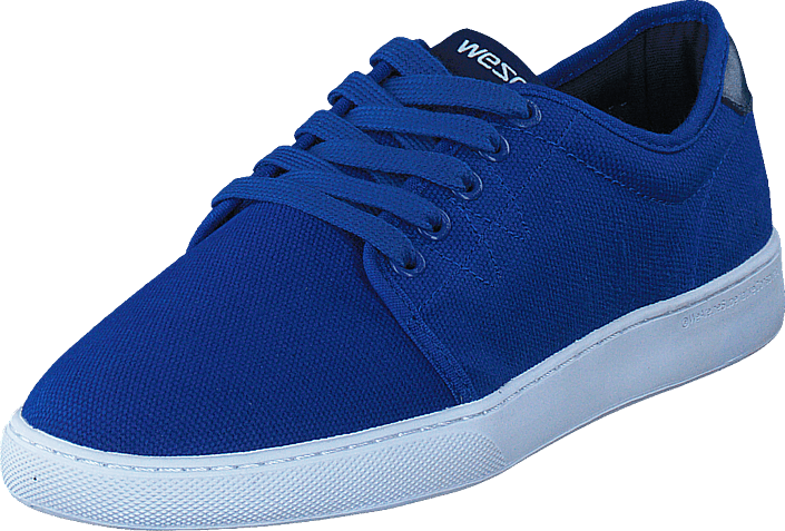 Kjøp WeSC Edmond Low Top Royal Blue Blå Sko Online