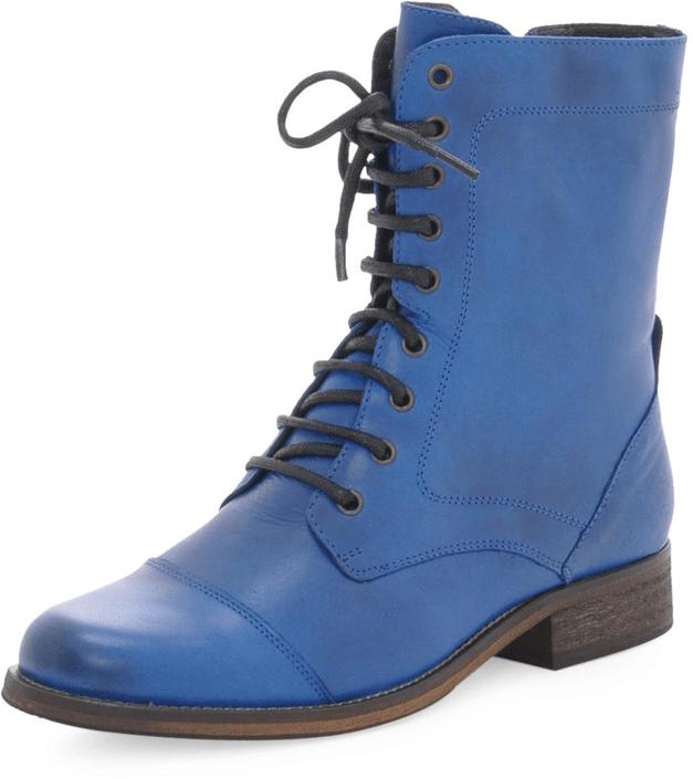 Kjøp Duffy in Leather 52-03878-10 Blue Blå Sko Online