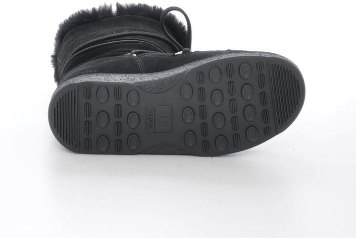 Kjøp Moon Boot Butter Mid JR Black Svarte Sko Online