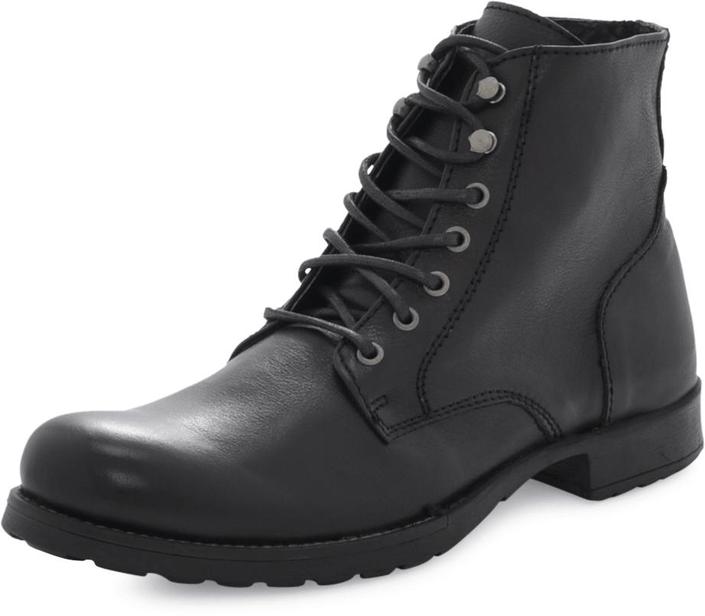 Kjøp STHLM DG Laced Boots BL Black Svarte Sko Online