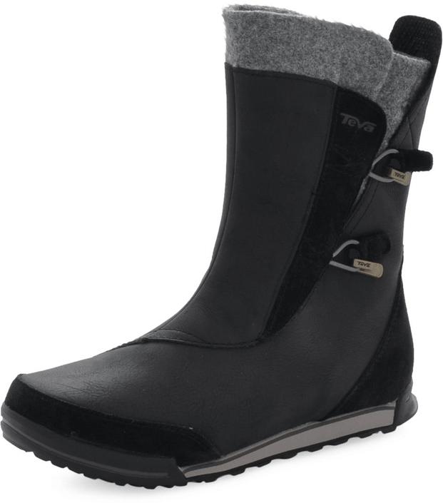 Kjøp Teva Haley Boot Svarte Sko Online