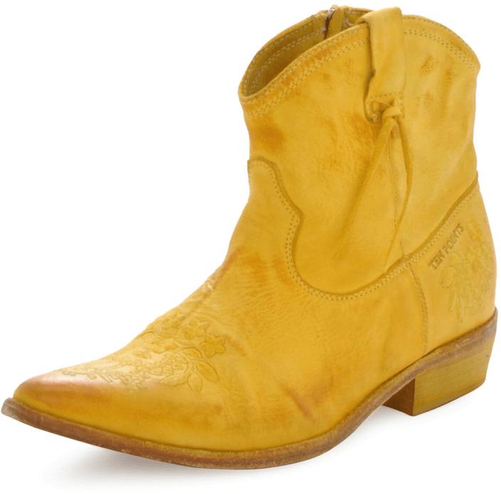 Kjøp Ten Points Dolly Yellow Gule Sko Online