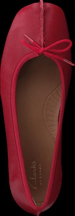 Kjøp Clarks Freckle Ice Red Røde Sko Online