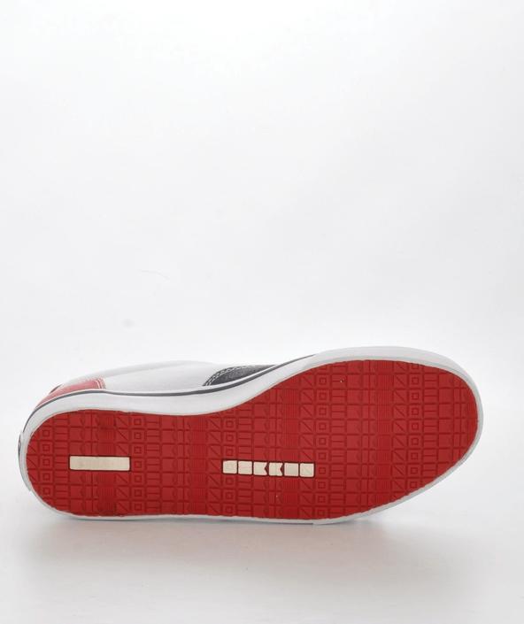 Kjøp Sebago Oceanside Red/white/navy Hvite Sko Online