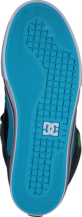 Kjøp DC Shoes Spartan High Wc Grey/Green/Blue Blå Sko Online