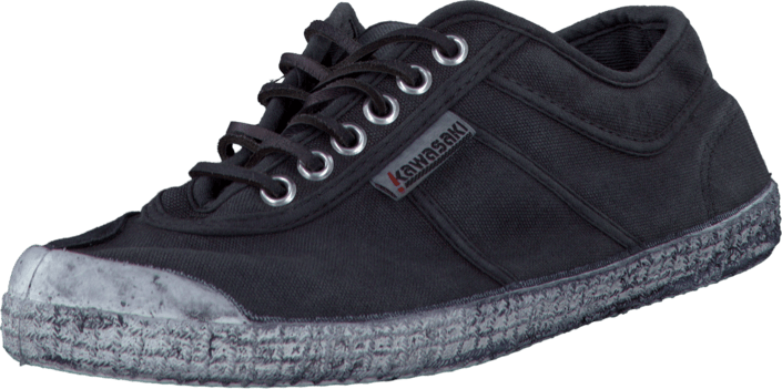 Kjøp Kawasaki Wash & Trumble Charcoal Grey Grå Sko Online