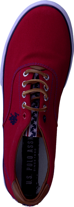 Kjøp U.S. Polo Assn Dalan Red/Brw Røde Sko Online