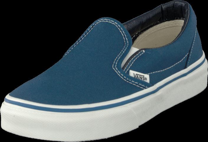 Kjøp Vans K Classic Slip-On Navy/True White Blå Sko Online