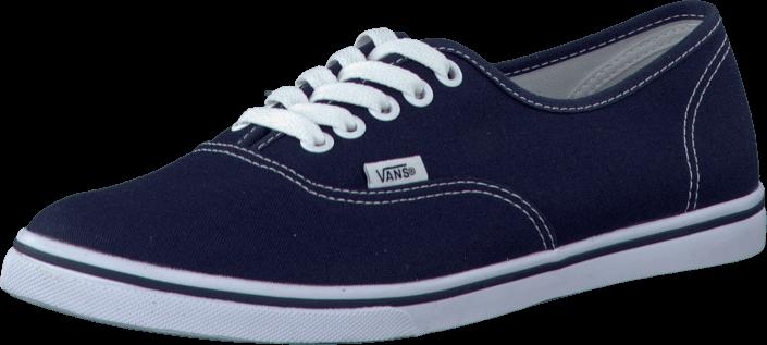 Kjøp Vans U Authentic Lo Pro Navy/True White Blå Sko Online