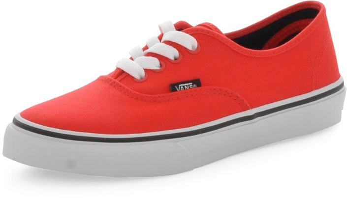 Kjøp Vans Authentic Røde Sko Online