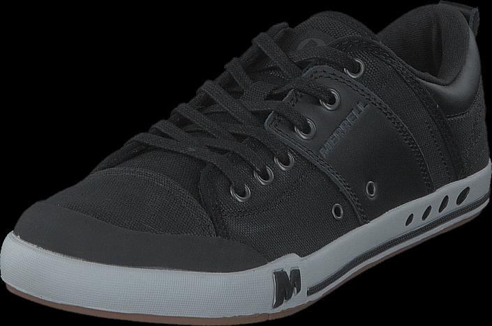 Kjøp Merrell Rant Black/Black Svarte Sko Online