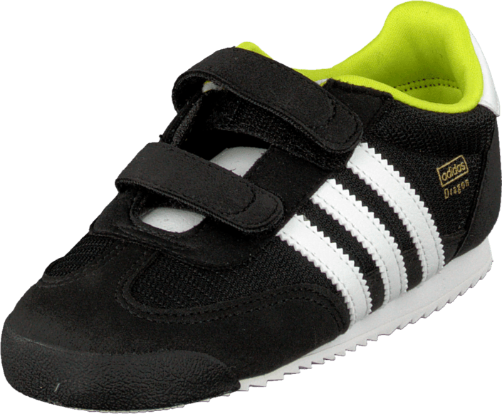 finest selection d1b0f ba944 ... denmark kjøp adidas originals dragon cf i black white yellow svarte sko  online ae861 89c57