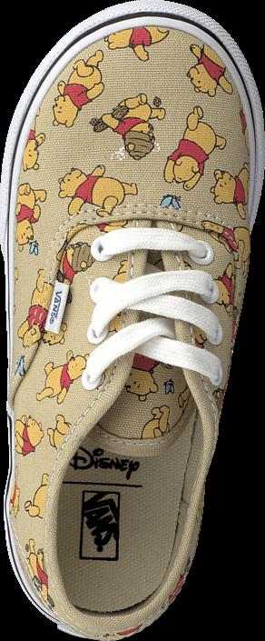 Kjøp Vans Authentic (Disney) Winnie The Pooh Beige Sko Online