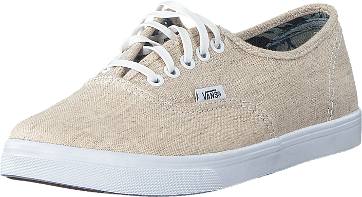 Kjøp Vans Authentic Lo Pro Natural/True White Hvite Sko Online
