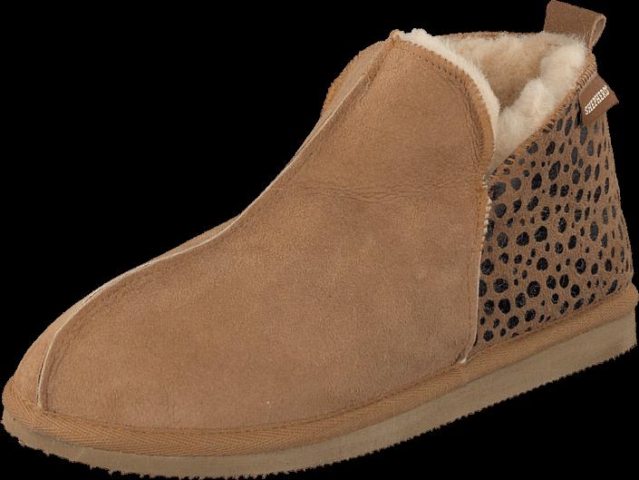 Kjøp Shepherd Annie Leopard Chestnut Beige Sko Online