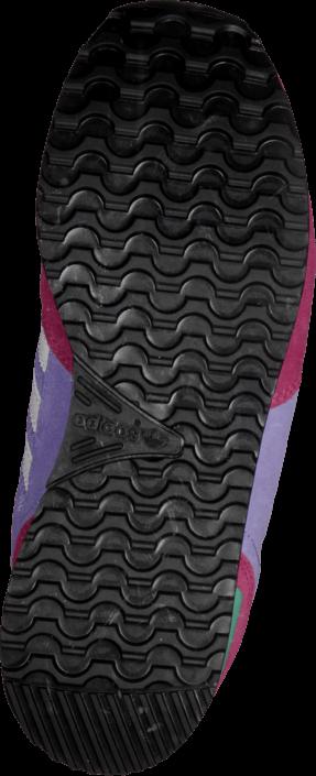 Kjøp adidas Originals Zx 700 K Bold Pink/White/Light Purple Blå Sko Online
