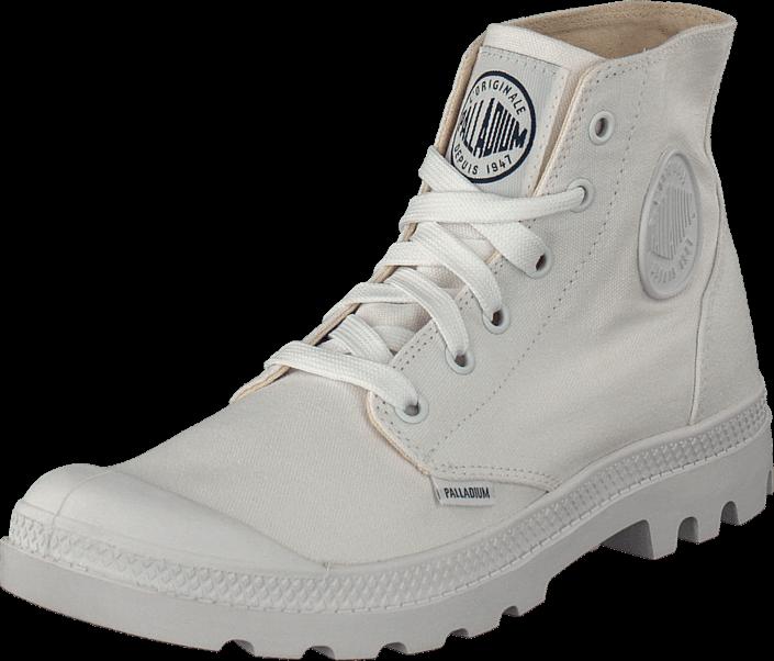 Kjøp Palladium Blanc Hi White 154 Hvite Sko Online