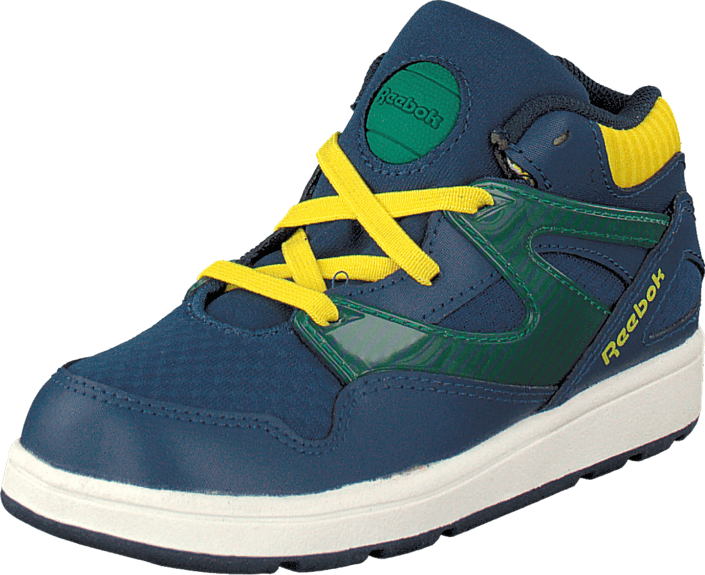 Kjøp Reebok Versa Pump Omni Lite Batik Blue/Yellow/Stone/Wht Blå Sko Online