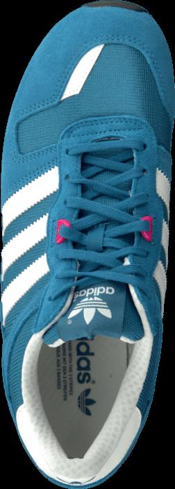 Kjøp adidas Originals Zx 700 W Hero Blue/White/Solar Pink Blå Sko Online