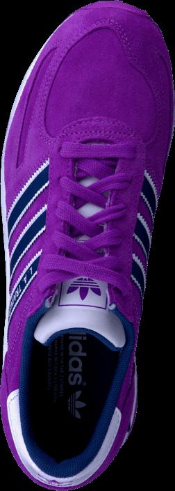 Kjøp adidas Originals La Trainer W Lilla Sko Online