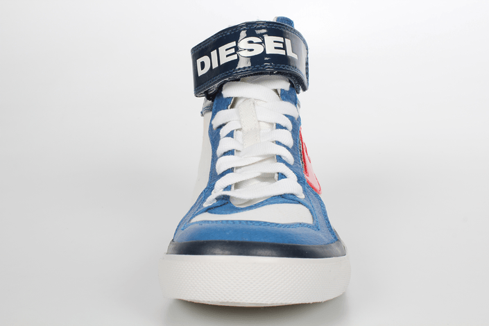 Kjøp Diesel Clawster Strap Blå Sko Online