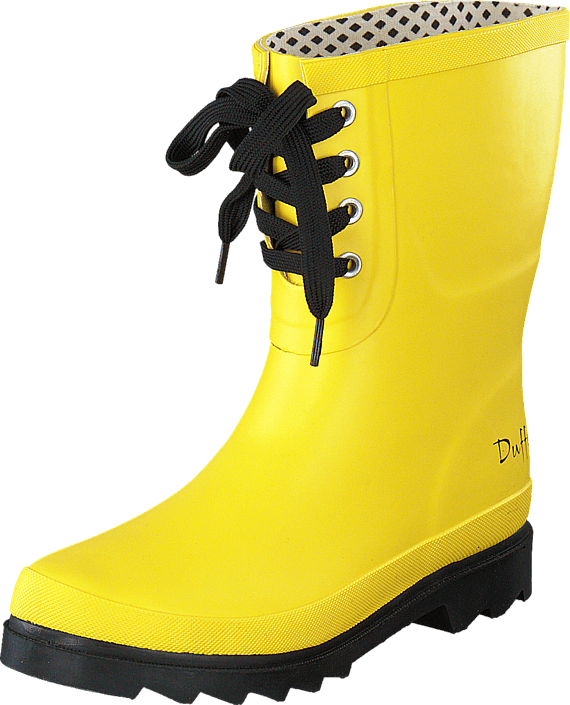 Kjøp Duffy 90-11004 Yellow Gule Sko Online