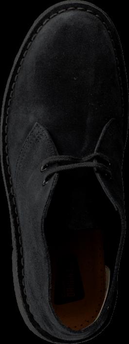 Kjøp Clarks Desert Boot Navy Suede Svarte Sko Online