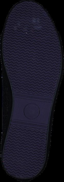 Kjøp Fred Perry B86 Shoe Gunmetal Blå Sko Online