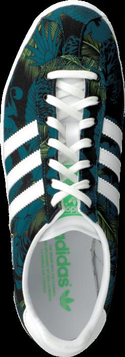 Kjøp adidas Originals Gazelle Og W Core Black/White/Green Grønne Sko Online