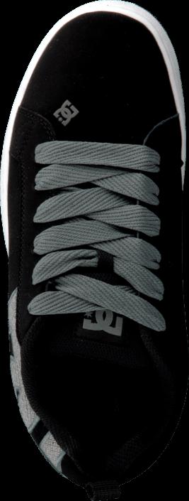 Kjøp DC Shoes Court Graffik Se Shoe Black/Gun Metal Grå Sko Online