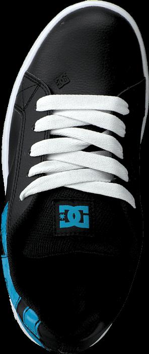 eb8b1cc2bf9 ... Kjøp DC Shoes Kids Court Graffik Shoe Black/Ocean/White Blå Sko Online