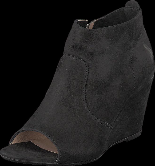 Kjøp A Pair 7608 Open Toe Black Svarte Sko Online