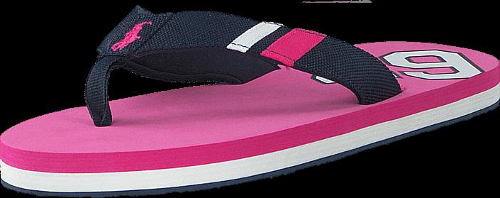 Kjøp Ralph Lauren Junior Ferry Thong Regatta Pink Cordura Blå Sko Online