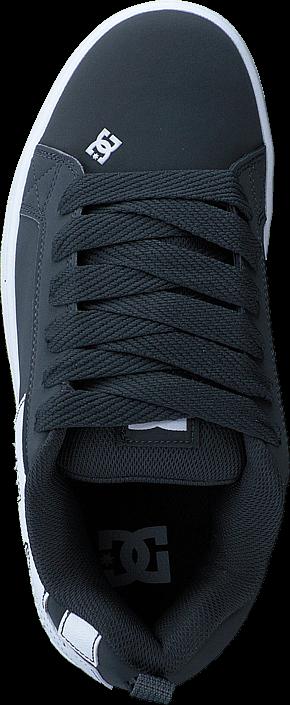 38c7e2391bb ... Kjøp DC Shoes Court Graffik Shoe Grey/Black Blå Sko Online