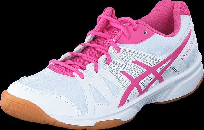 Kjøp Asics Gel Upcourt White / Azalea Pink / White Lilla Sko Online