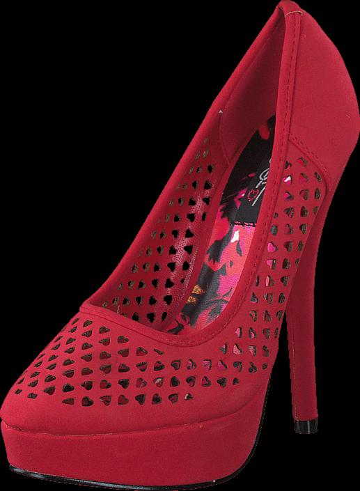 Kjøp Iron Fist Queen Of Hearts Røde Sko Online