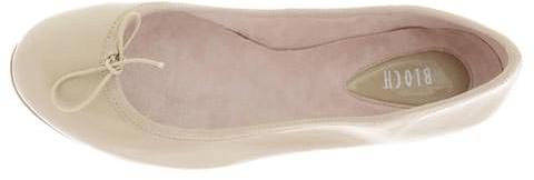 Kjøp Bloch Patent Ballerina Hvite Sko Online