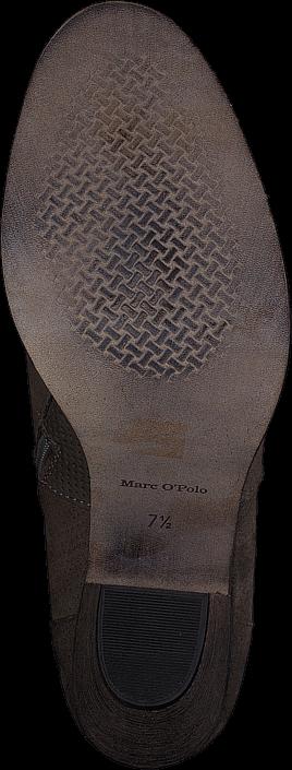 Kjøp Marc O'Polo Mid Heel Chelsea Brune Sko Online
