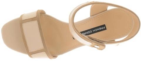 Kjøp French Connection Ginger Beige Sko Online