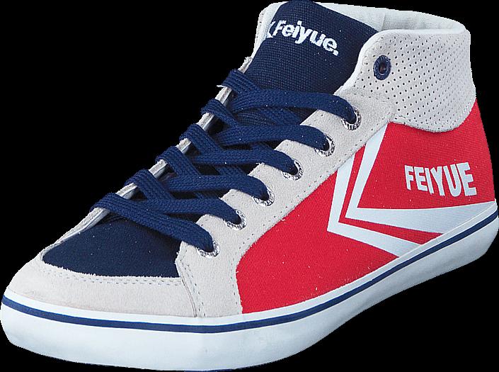 Kjøp Feiyue Delta Mid Røde Sko Online