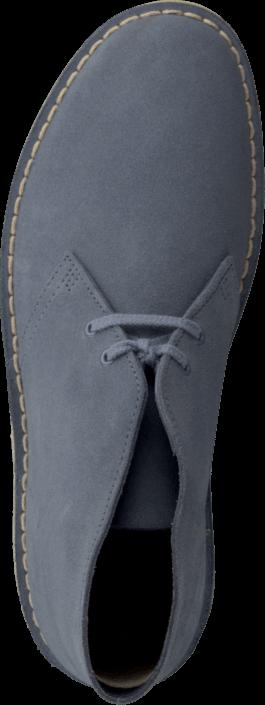 Kjøp Clarks Desert Boot Blå Sko Online