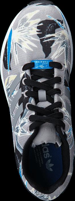 Kjøp adidas Originals Zx Flux Light Onix/Ftwr White Grå Sko Online